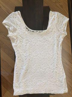 Garage used summer lace top