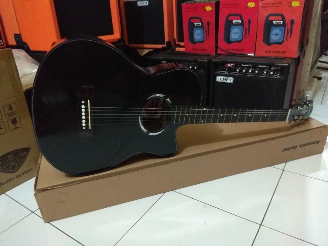 Gitar akustik apx hitam