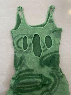 House of sunny green dress Hockney dress dress hijau