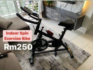 Indoor Spin Exercise Bike Bicycle