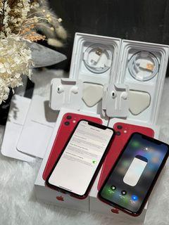 iPhone 11 64GB Bekas Mulus Murah RED
