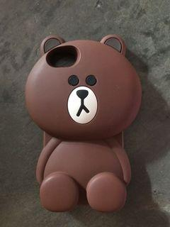 Iphone 7 Brown Case