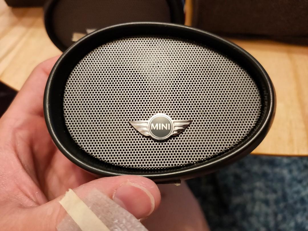 iUi Compact Mirror 可串連 Mini Cooper後視鏡造型 重低音無線藍牙喇叭