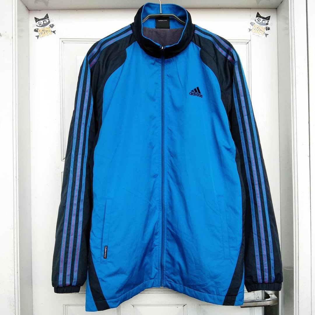 Jaket Ttacktop Adidas 3 Stripes