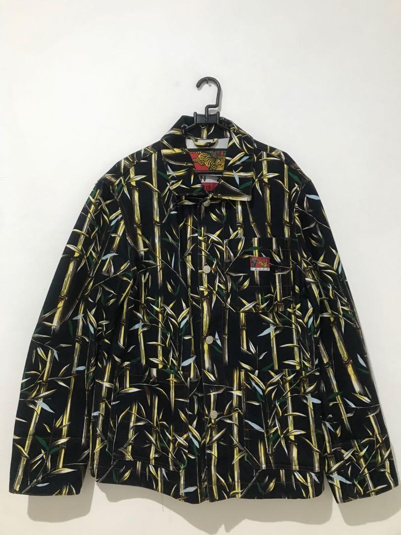 Kenzo bamboo print jacket