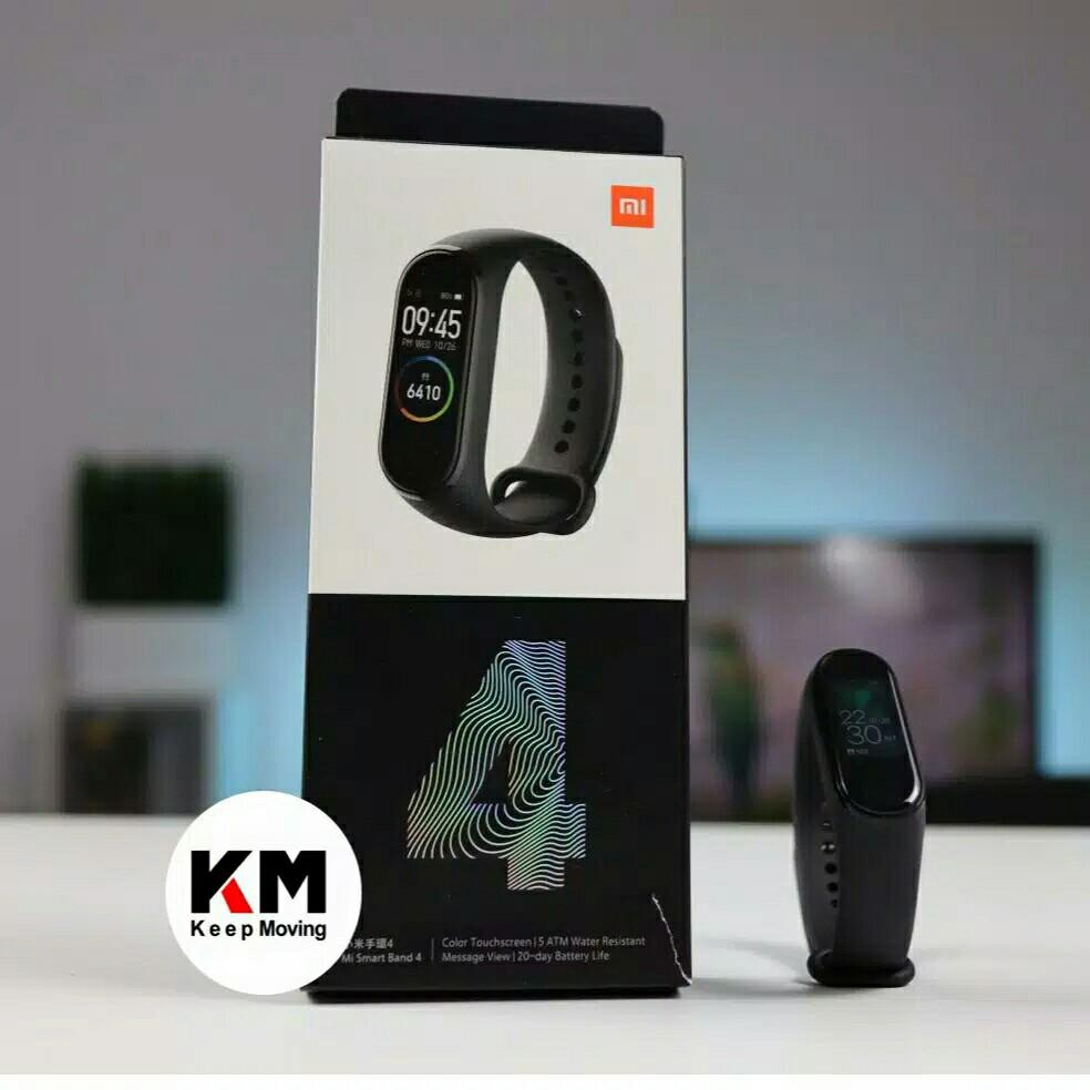KM Smartband M4 Heart Rate Monitor Smartwatch M4 Mirip Mi Band 4