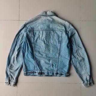 Levis Denim Jacket Custom by Lamis Khamis
