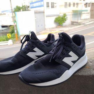 New Balance247運動鞋跑鞋黑色27cm US9