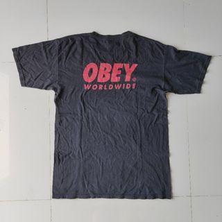 Obey Tshirt Black | Kaos Tees