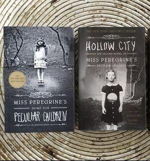Peculiar children + hollow city