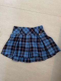 Plaid mini skirt rok y2k