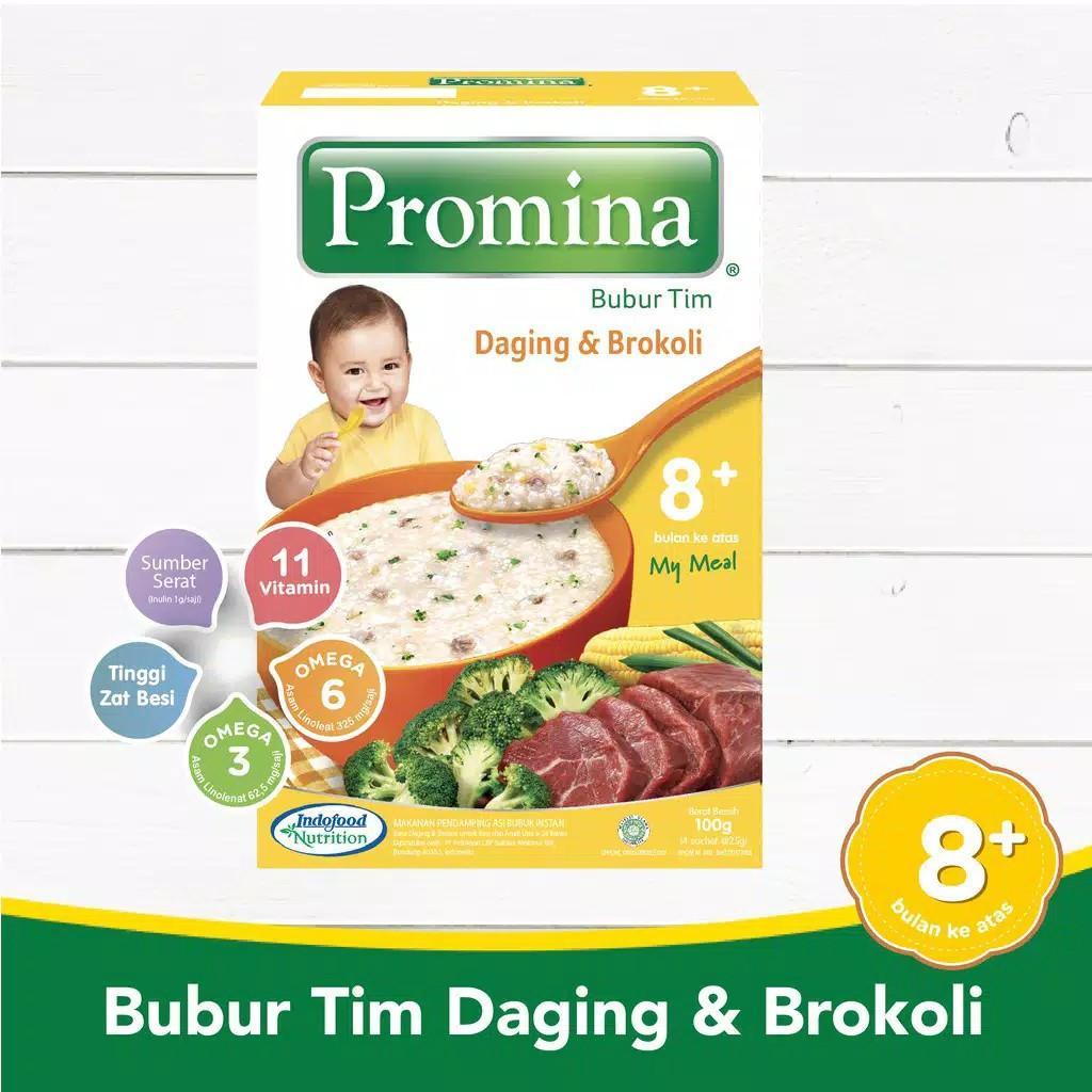 Promina BTI Daging & Brocoli Box 100 g x 1 Pcs