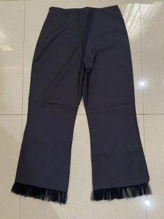 Ruffles blue pants
