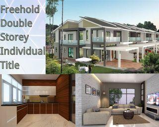 Super Cheap Freehold double storey only 430k🔥🔥🔥and Cash Rebate 10k~80k💰💰💰