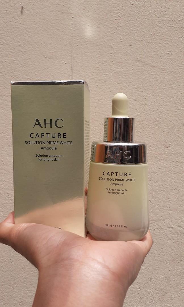 #THR2021 AHC ampoule serum white