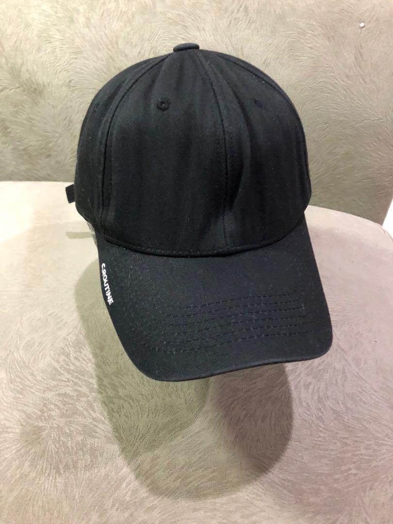Topi hitam seoul city