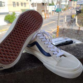 VANS板鞋白藍27cm US9