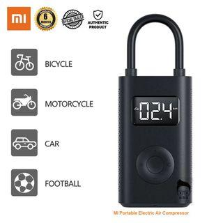 Xiaomi Portable Electric Air Compressor for Bike/Motorcycle/Car/Ball with 6months Local Warranty