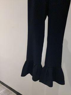 Zara Navy Flared Pants
