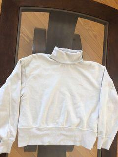 Zara turtle neck hoodie