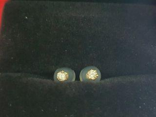 .12 Total cts Diamond Solitaire Stud