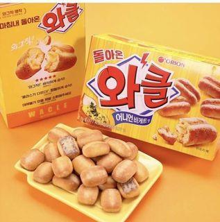 ✨韓國好麗友 烤洋蔥麵包 76g
