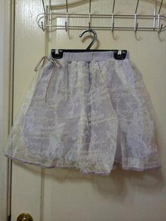 日貨 專櫃 Liz lisa 英文 字母 紗裙 蝴蝶結