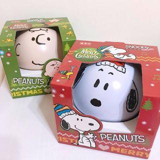 絕版 盛香珍史努比聖誕節款收納球 Snoopy收納 史努比收納 查理布朗收納 史努比擺飾
