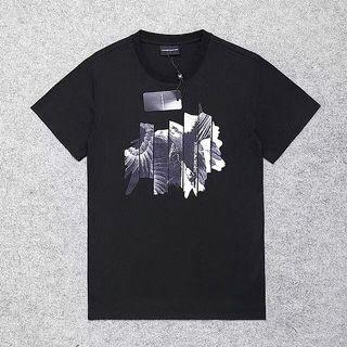 代購 義大利國際精品Giorgio Armani 亞曼尼老鷹寫真印花短袖T恤