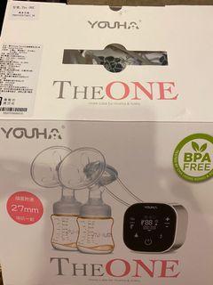 擠奶器 Breast Pump 優合 Youha The ONE 智慧型雙邊電動吸乳器(YH-8020)