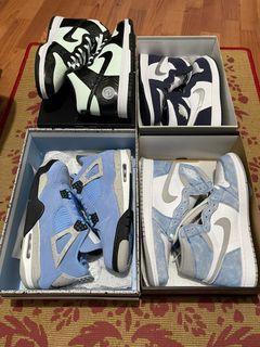 Air Jordan's + Nike SB Dunk