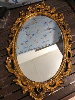 Antique Gold Italian Mirror