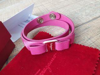Authentic Salvatore ferragamo double tour bracelet