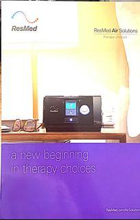 CPAP for Home & Air Travel set, with battery charger