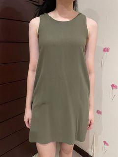 Editors market green dress