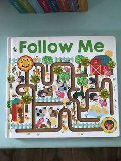 Follow me手指地圖書