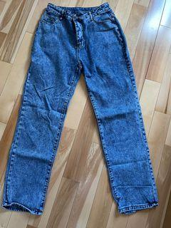 High rise mom jeans from shein size M