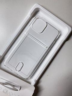 IPhone 11 Pro 透明保護殼/背面可插卡