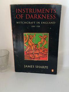 James Sharpe instruments of darkness: witchcraft in England 1550 to 1750