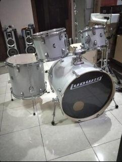 Jual Drum Ludwig Element Evolution 2nd (98% cond)