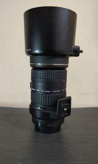 Lensa tele 80-400mm tokina for canon mulus