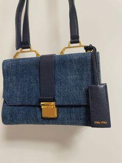 Miu Miu Denim Bag