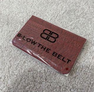 NEW B-Low the Belt Card Case
