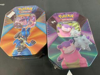 Pokémon V Tin each
