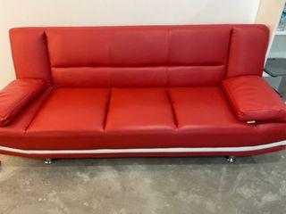 PU leather sofa sofabed
