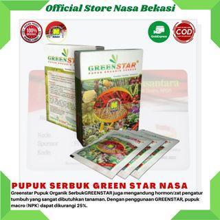 Pupuk organik green star nasa pupuk perangsang tumbuh hasil panen melimpah
