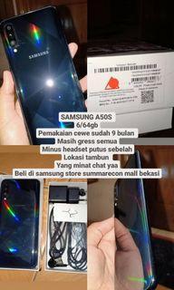 Samsung a50s MASIH GRESS