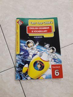 Standard 6 English Grammar and Vocabulary Workbook