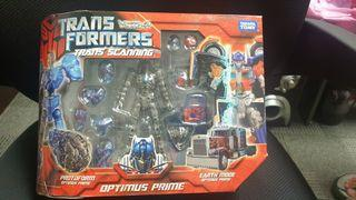 Transformers Trans Scanning Optimus Prime