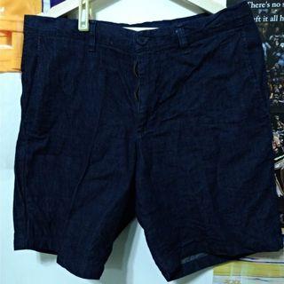UNIQLO牛仔短褲 #防疫